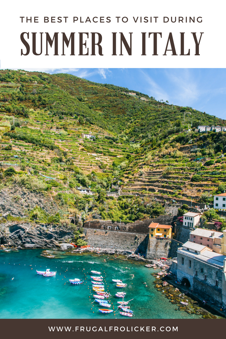 Summer in Italy: where to go for a summer holiday in Italy