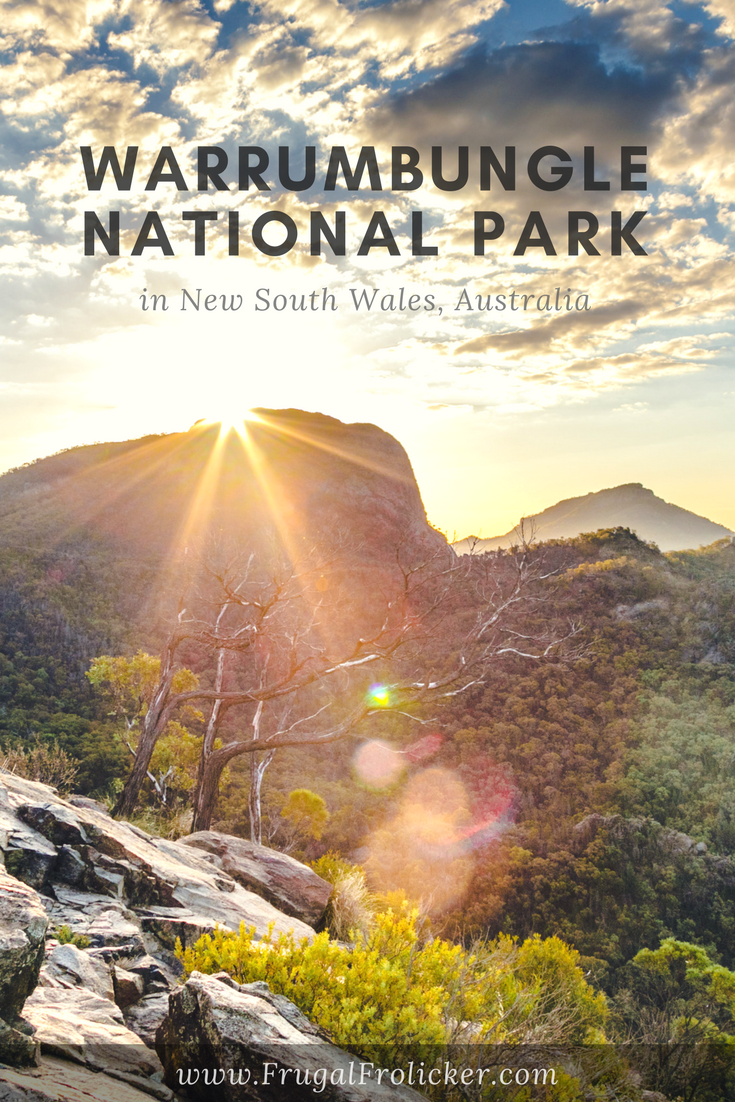 Warrumbungle National Park hiking and camping in NSW, Australia