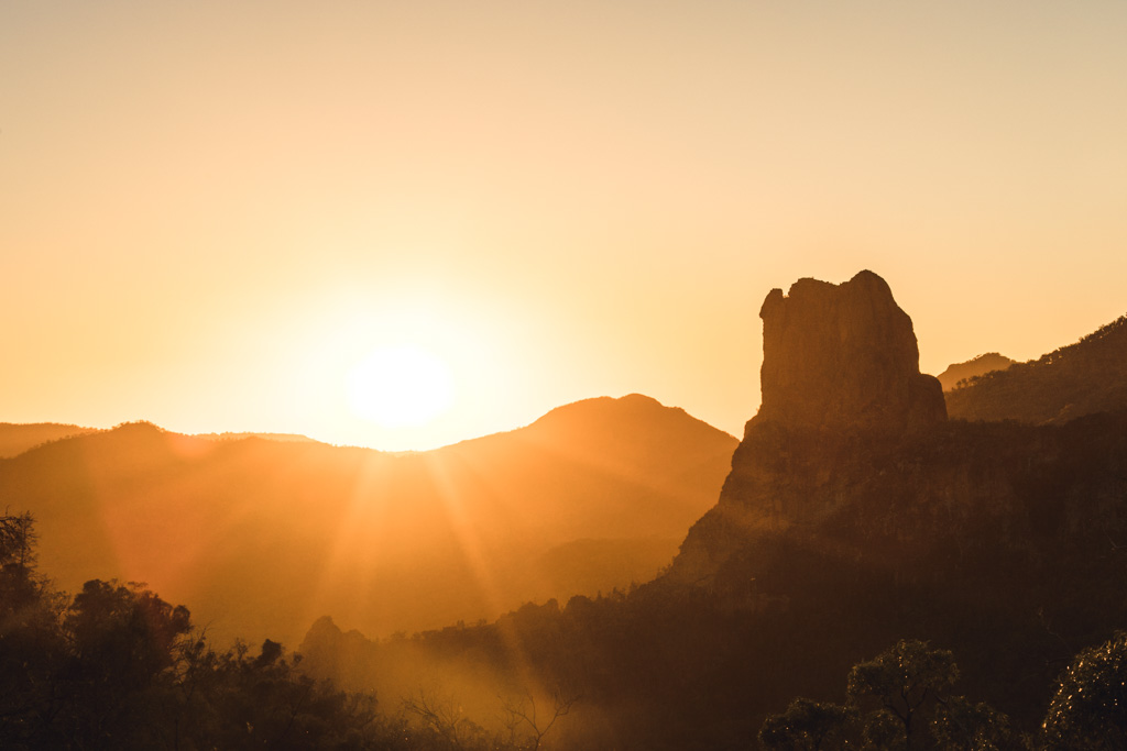warrumbungles sunrise