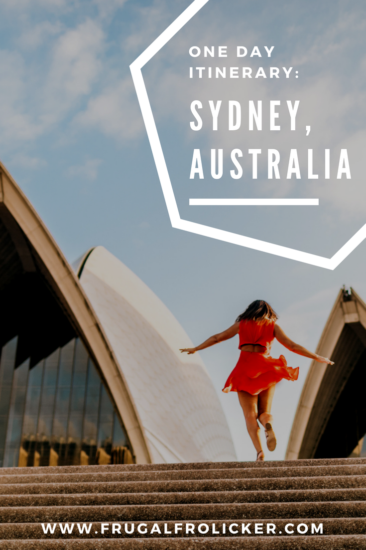 Sydney one day itinerary