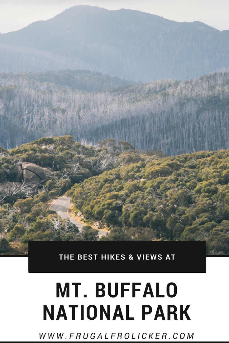 Mt Buffalo National Park hikes and views