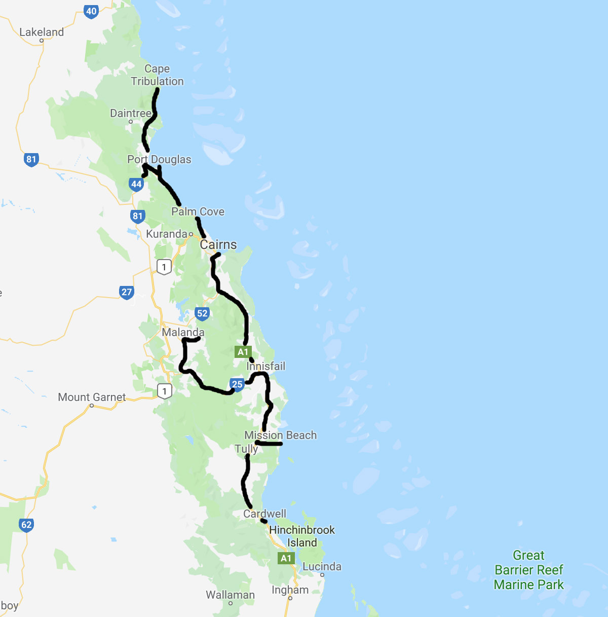 far north queensland road trip