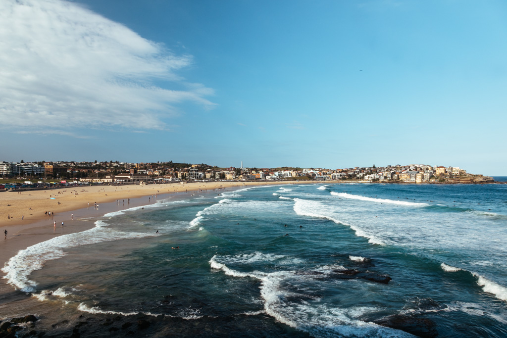 bondi beach blog