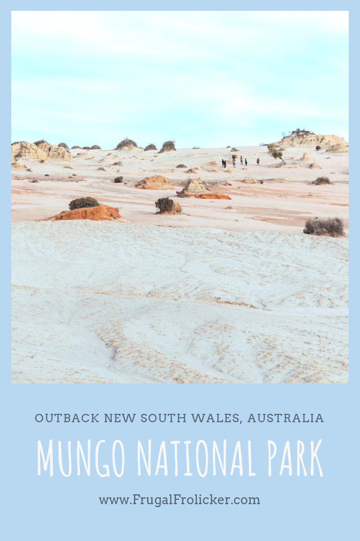 Visit Mungo National Park in Outback NSW, Australia