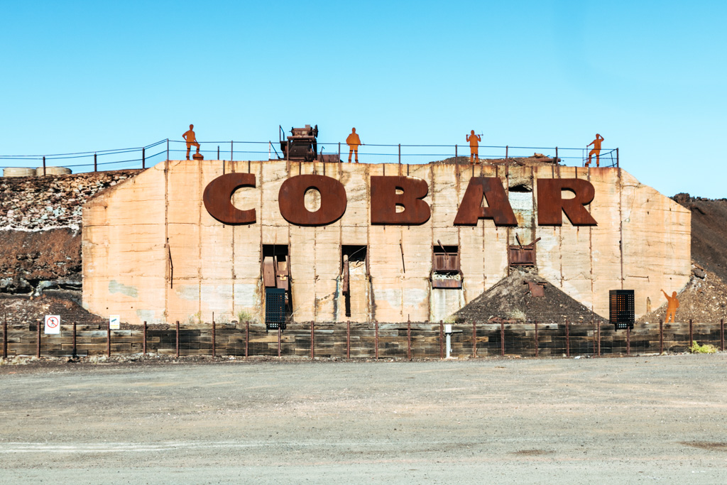 cobar to broken hill