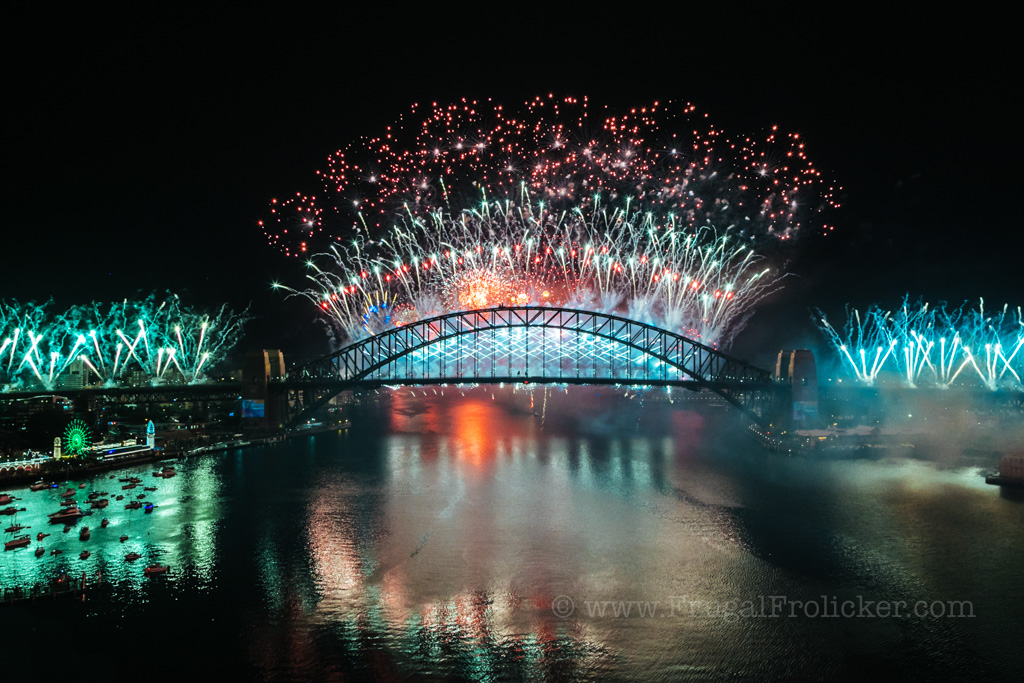 Sydney NYE blues point