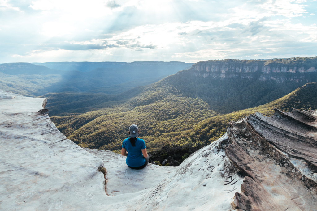 blue mountains lincoln rock