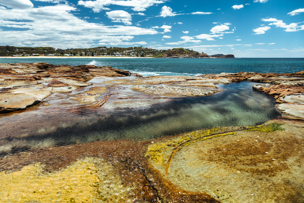 avoca rock pool