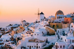 santorini travel blog