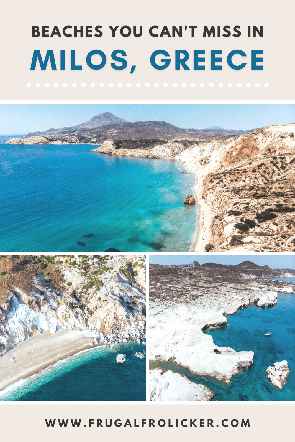 A Guide to the best villages and beaches in Milos, Greece