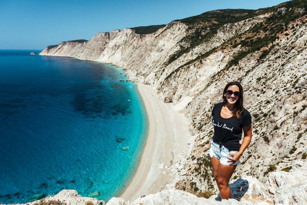 best beach kefalonia