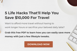 save money for travel