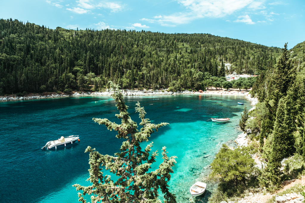 beaches of kefalonia