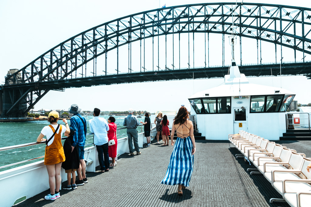 sydney harbour boat tour