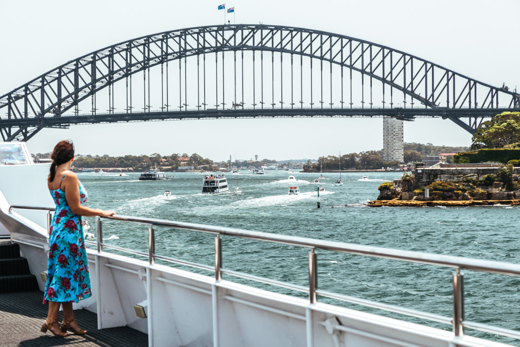 sydney harbour captain cook cruise