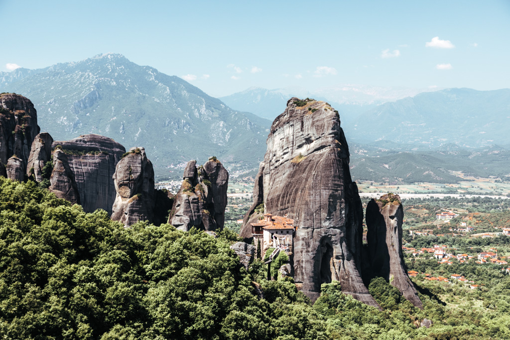 How to get to meteora