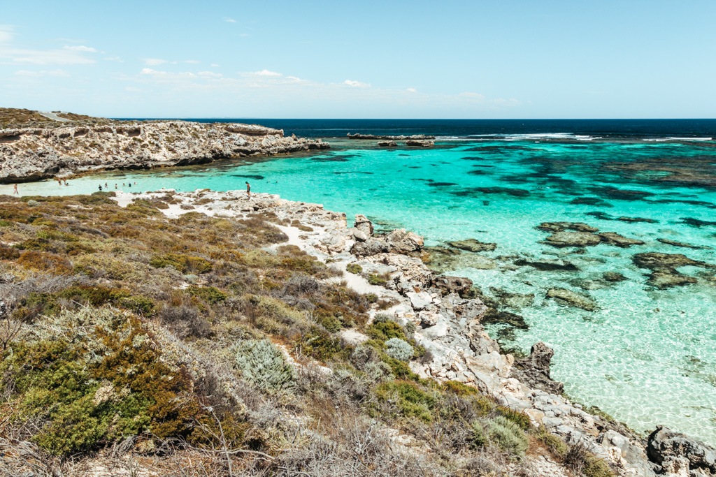 best beach rottnest island