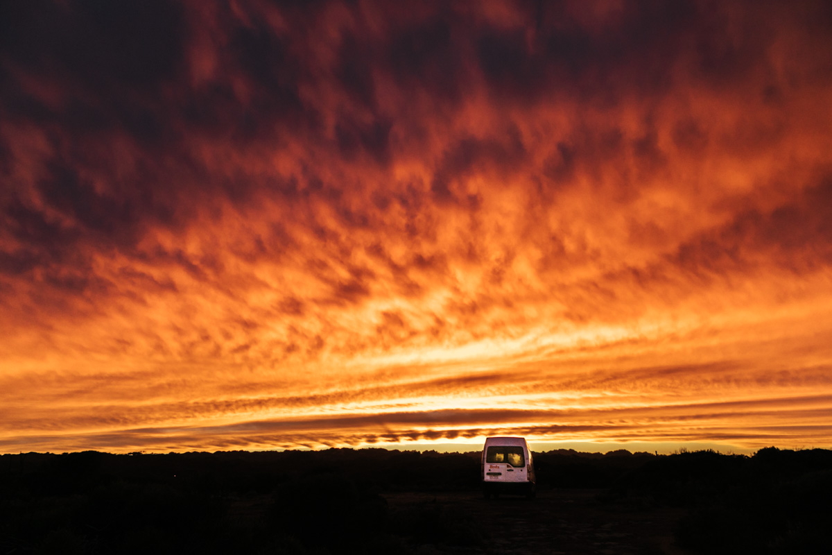 free camping south australia