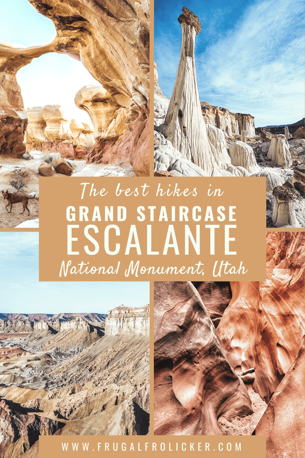 Best Hikes in Grand Staircase Escalante National Monument