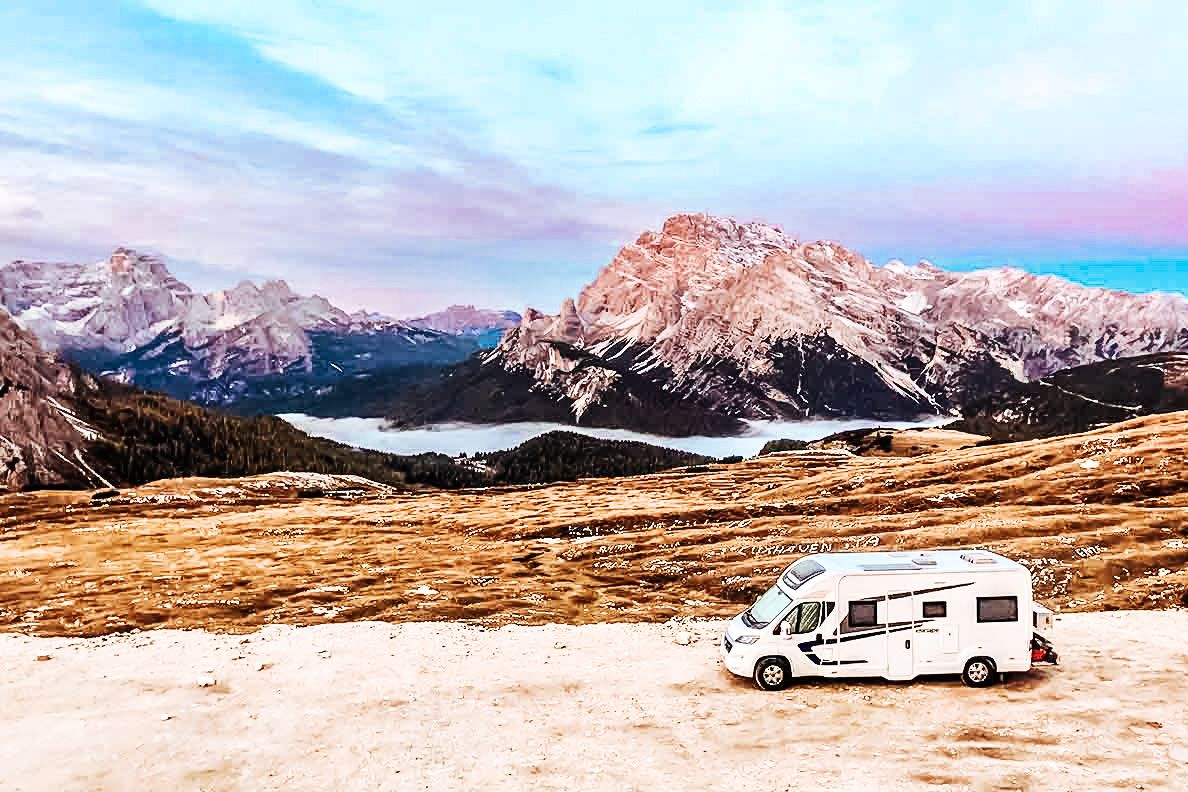 travel europe in a motorhome