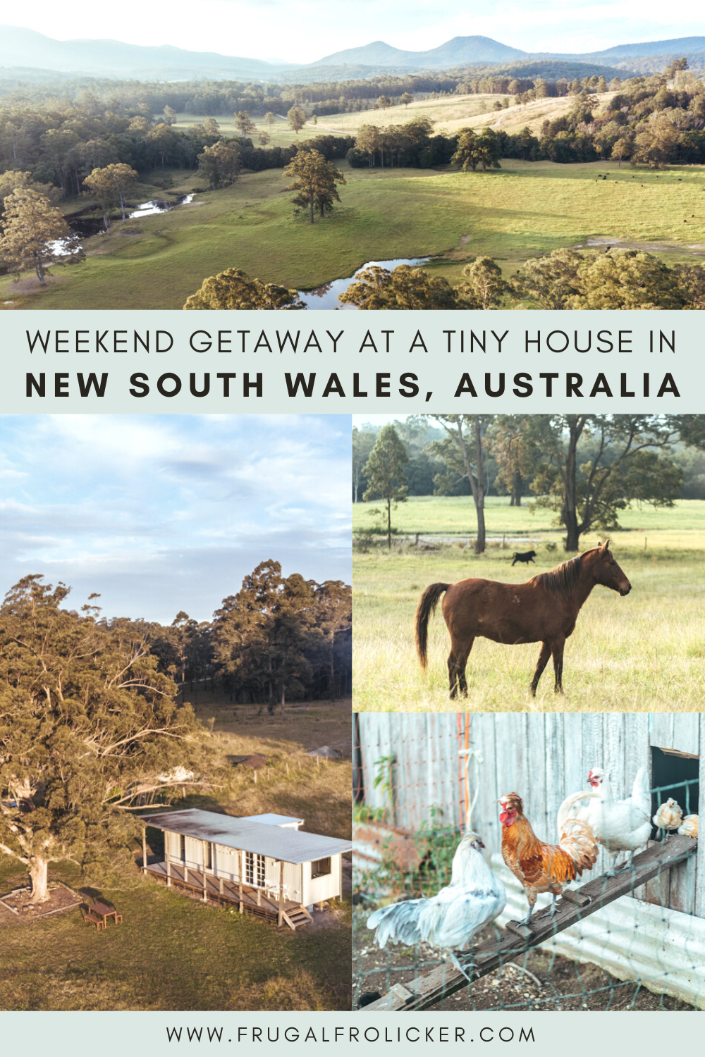 Winter Getaway from Sydney: Tiny House in NSW