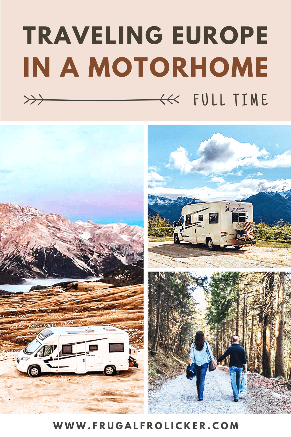 Quit Your Job and Travel Europe in a Motorhome