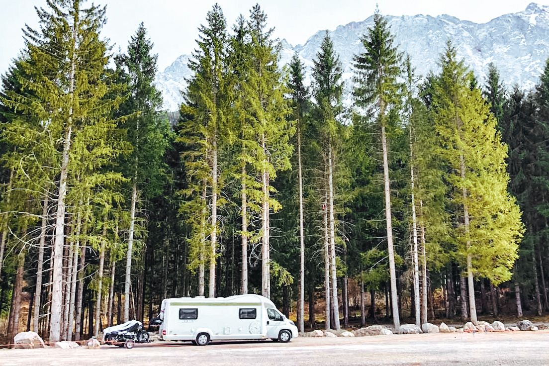 traveling europe in a motorhome