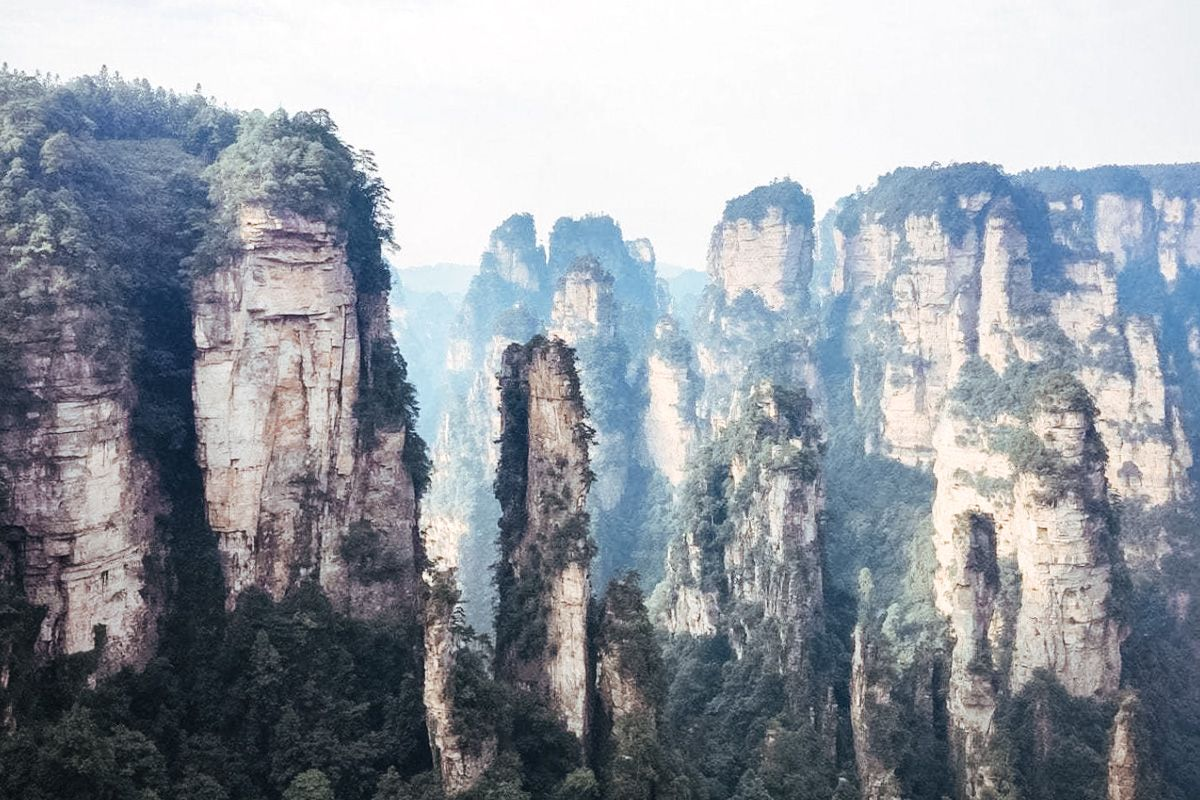 hiking zhangjiajie
