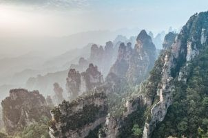 zhangjiajie hiking