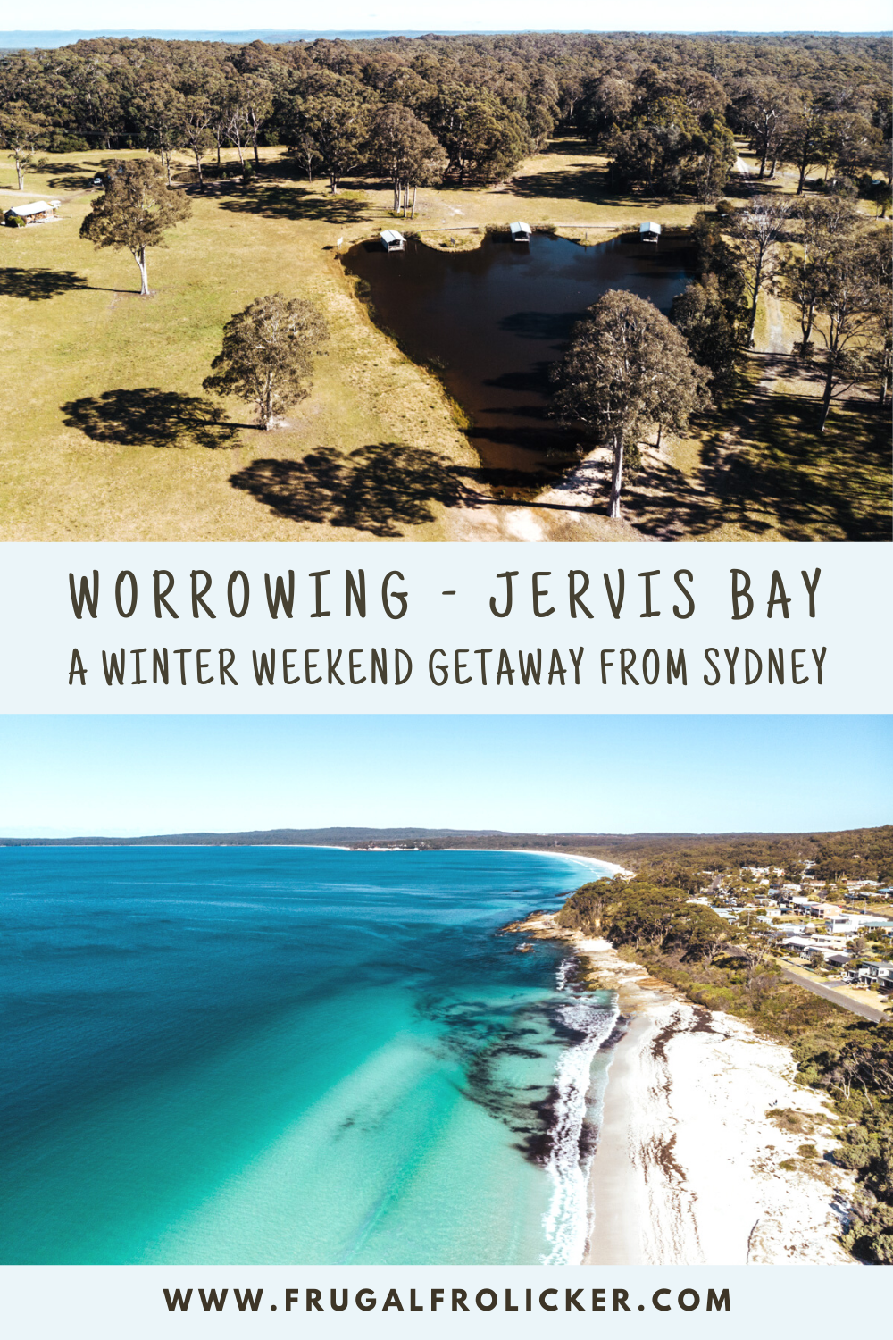Staying at Worrowing Jervis Bay, Australia