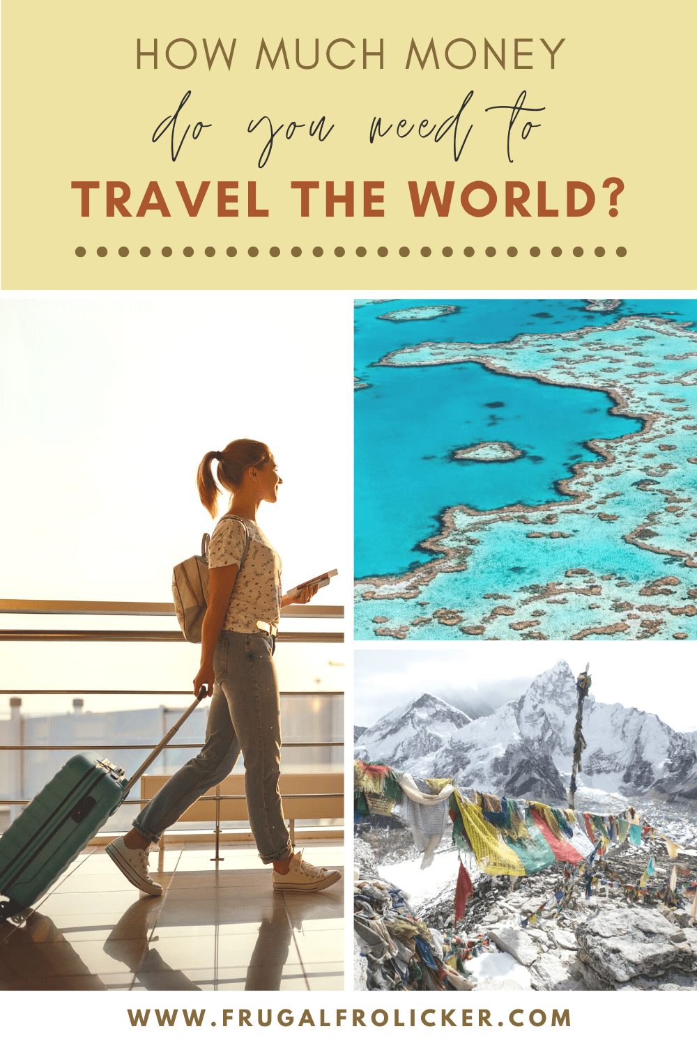How much does it cost to travel the world? | How much money you need to save before you quit your job to travel