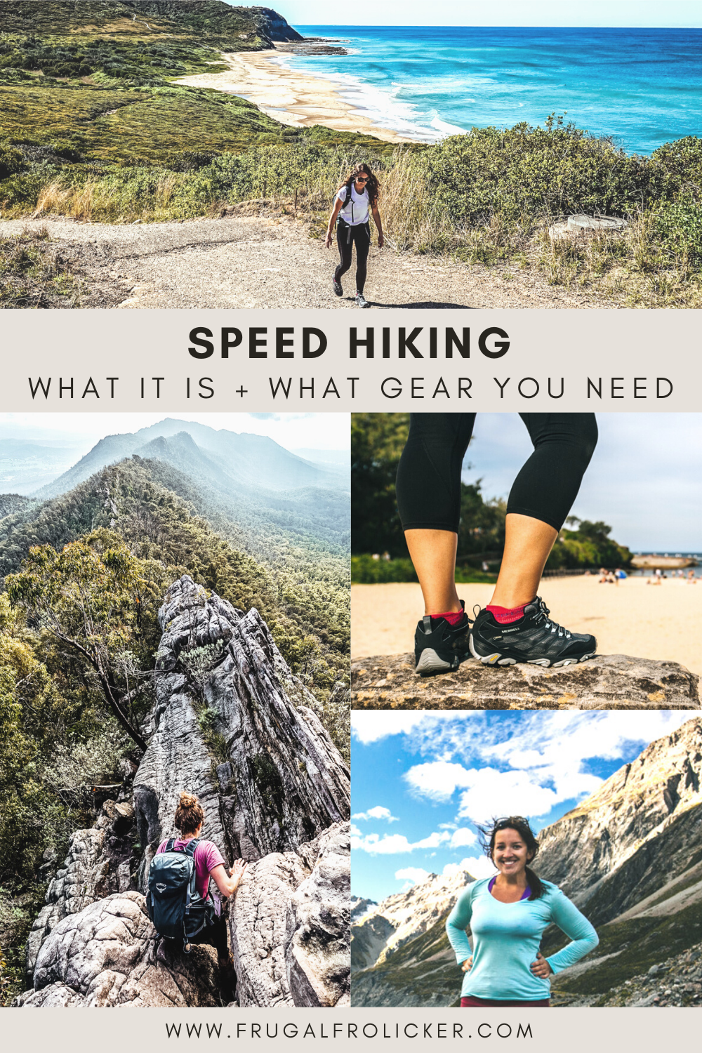 Speed hiking / Power hiking