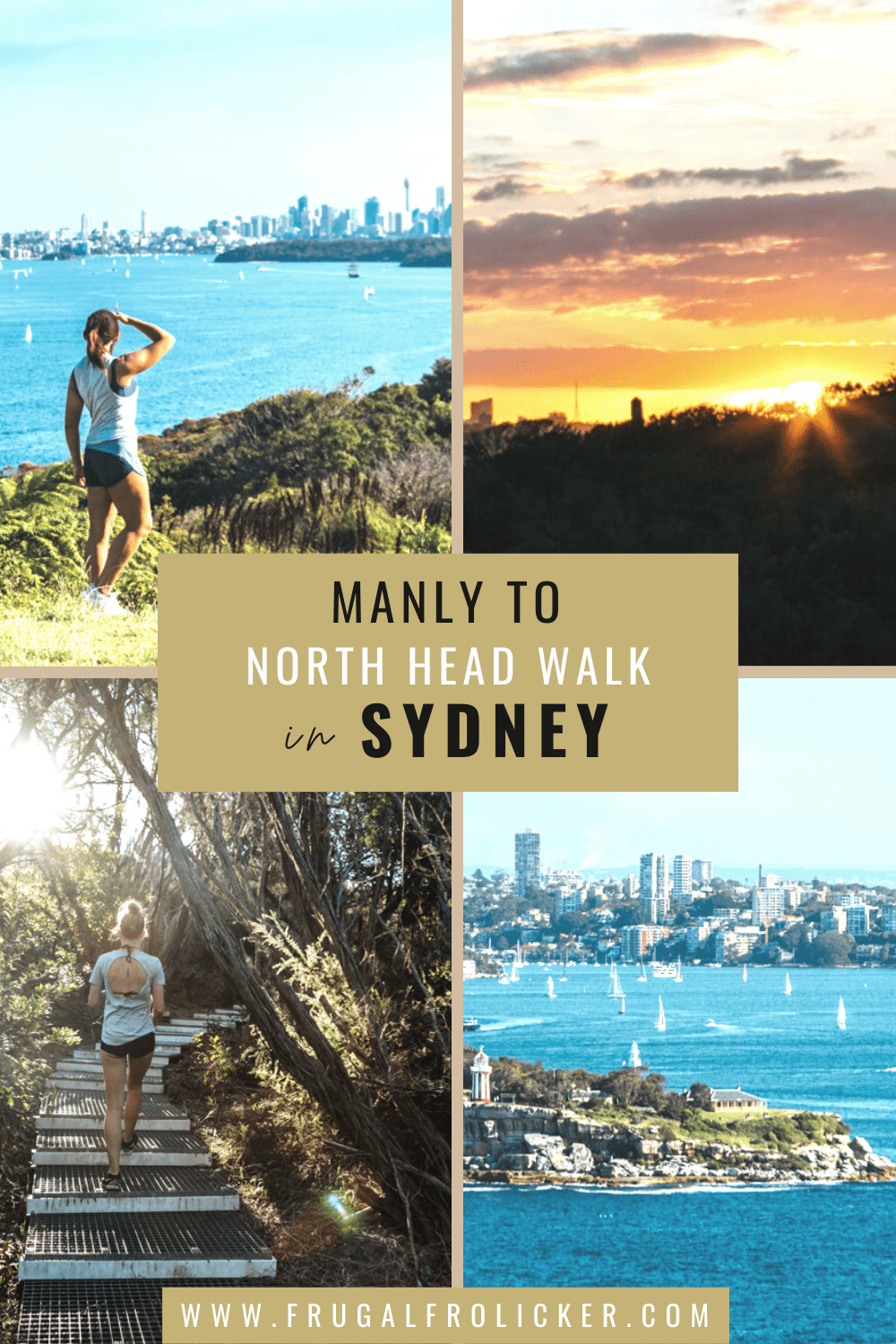 Manly to North Head walk in North Head Sanctuary