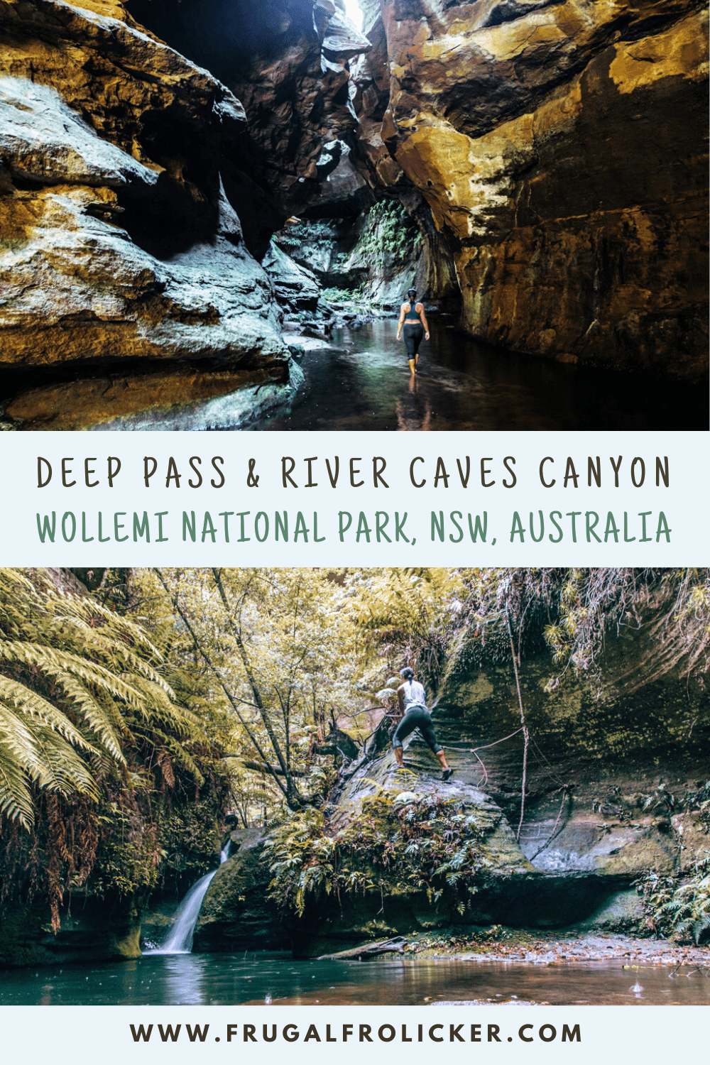 Deep Pass & River Caves Canyon - Wollemi National Park, NSW