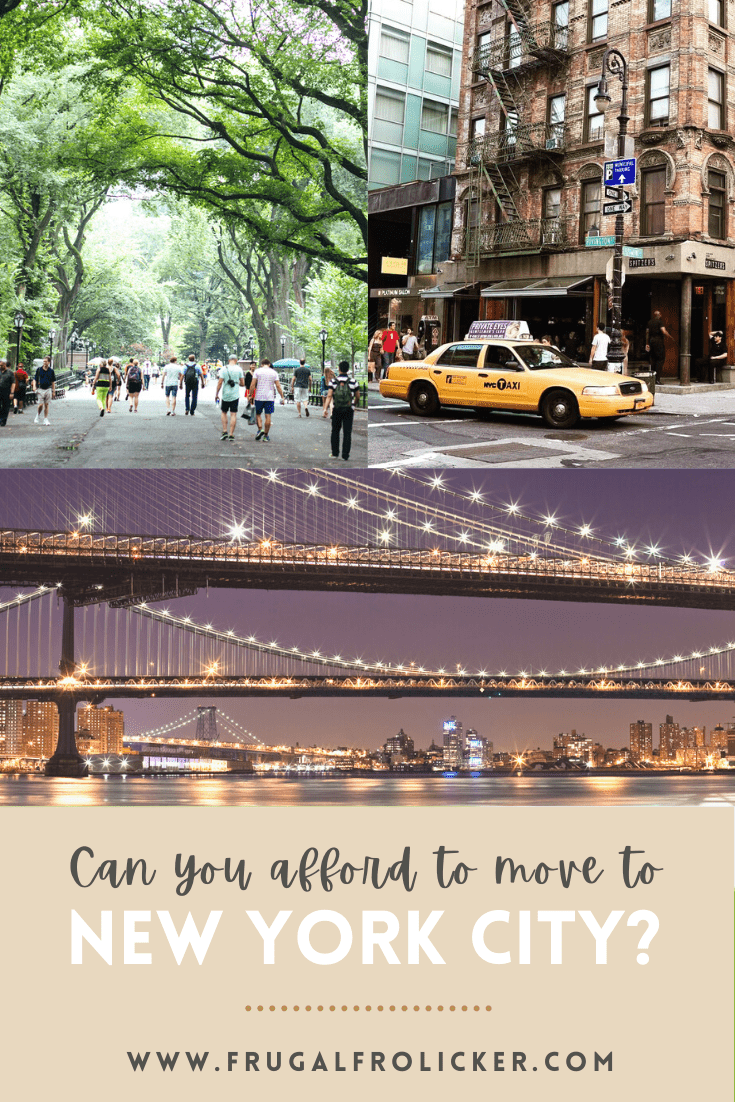 Can you afford to move to NYC?