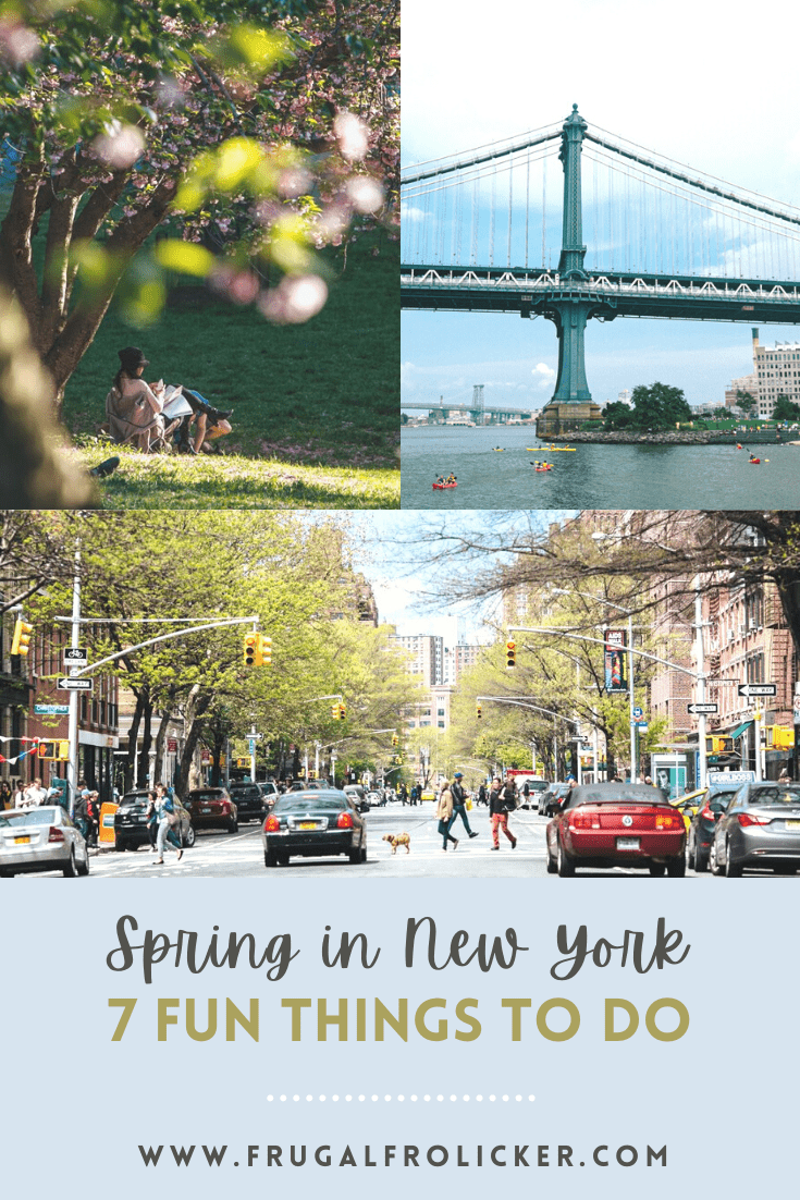 Things to do in Spring in New York City