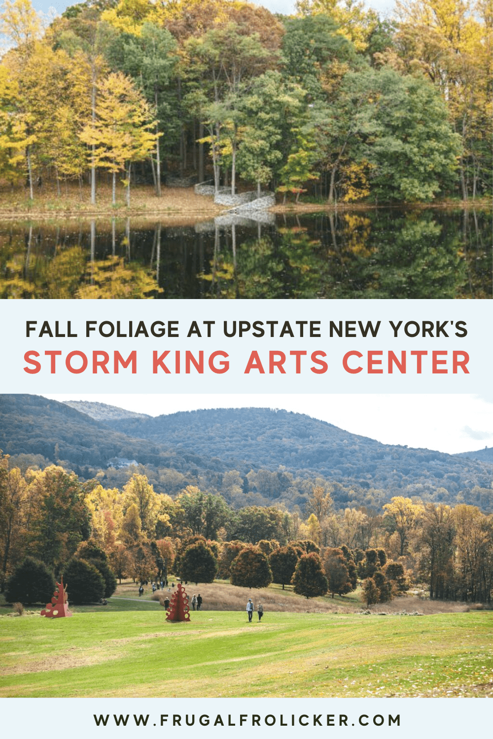 Fall Foliage at the Storm King Art Center in Upstate New York