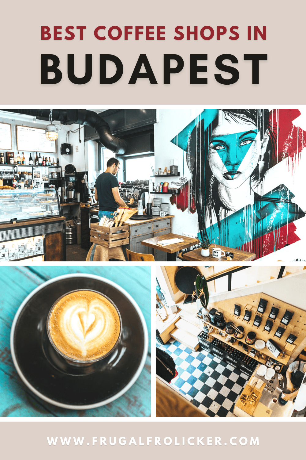Best coffee in Budapest, Hungary