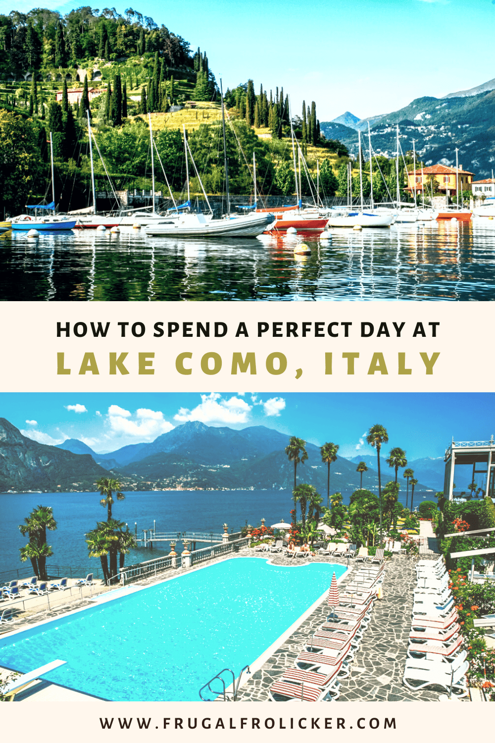 One Day in Lake Como, Italy