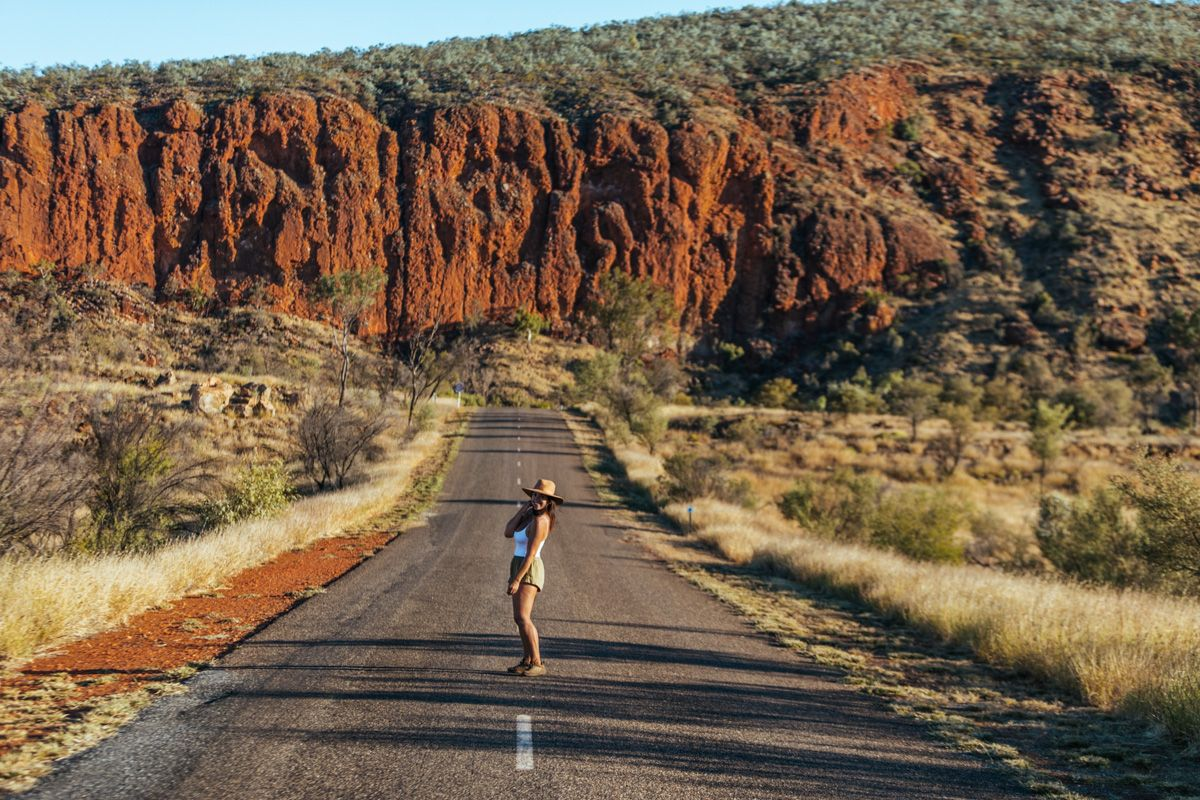 west macdonnell ranges camping